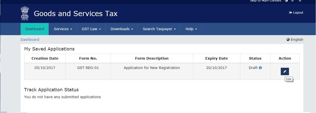 Register GST
